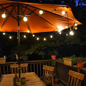 Outdoor Long Term Lighting Requires Heavy Duty Construction And Thatu0027s  Where Commercial Grade String Lights Shine! S14 LED Filament String Lights  Are Built ...