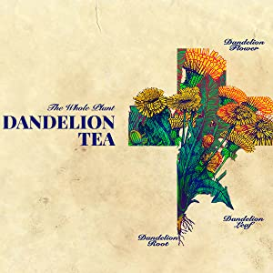 lion dandelion tea whole plant organic detox digest