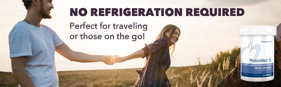No refrigeration required