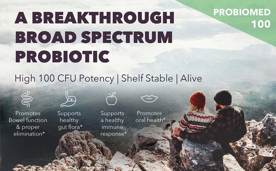 A breakthrough broad spectrum probiotic