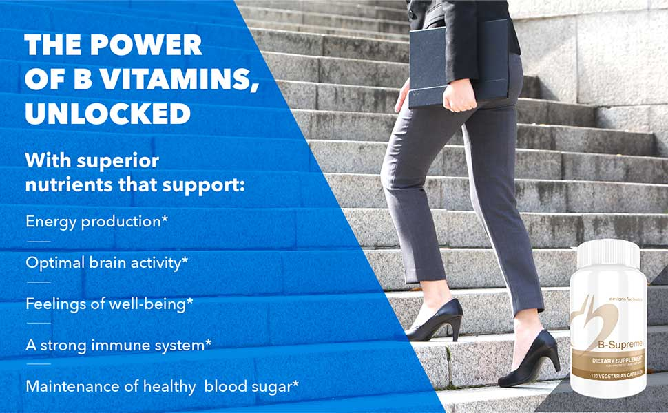 The power of b vitamins, unlocked