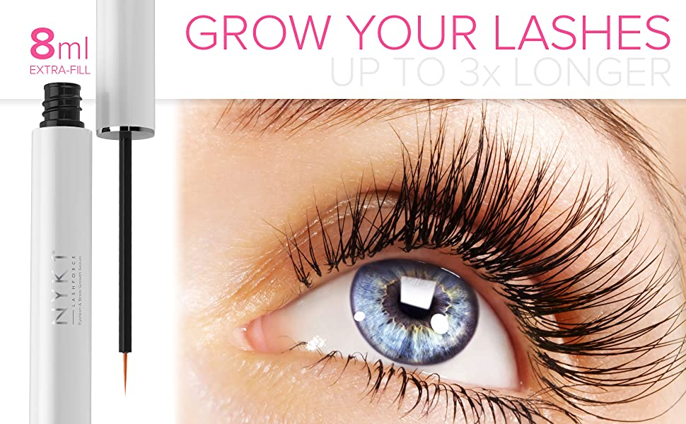 Amazon Amazing Lash Force Eyelash Growth Serum 8ml Nyk1