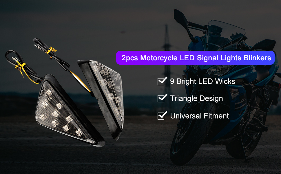 Amazon.com: 2 luces de señalización LED ámbar para ...