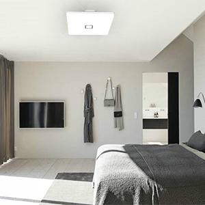 Amazon Com Led Ceiling Lights Flush Mount Square 5000k Cold White Light Airand 24w Waterproof