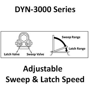 Dynasty Hardware Door Closer, 3000 Series