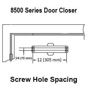automatic door closer, Door Closers, dynasty hardware, hydraulic door closer