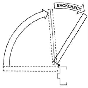 door closer backcheck, back check valve, adjustable door closer, automatic door closer