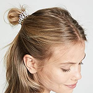 gentle hair ties ponytail bun workout exercise