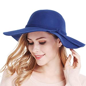 this sun hat has a ribbon on the inside, which allows you to customize the fit;