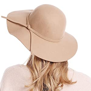 The wide brim sun hats can be functional or fashionable