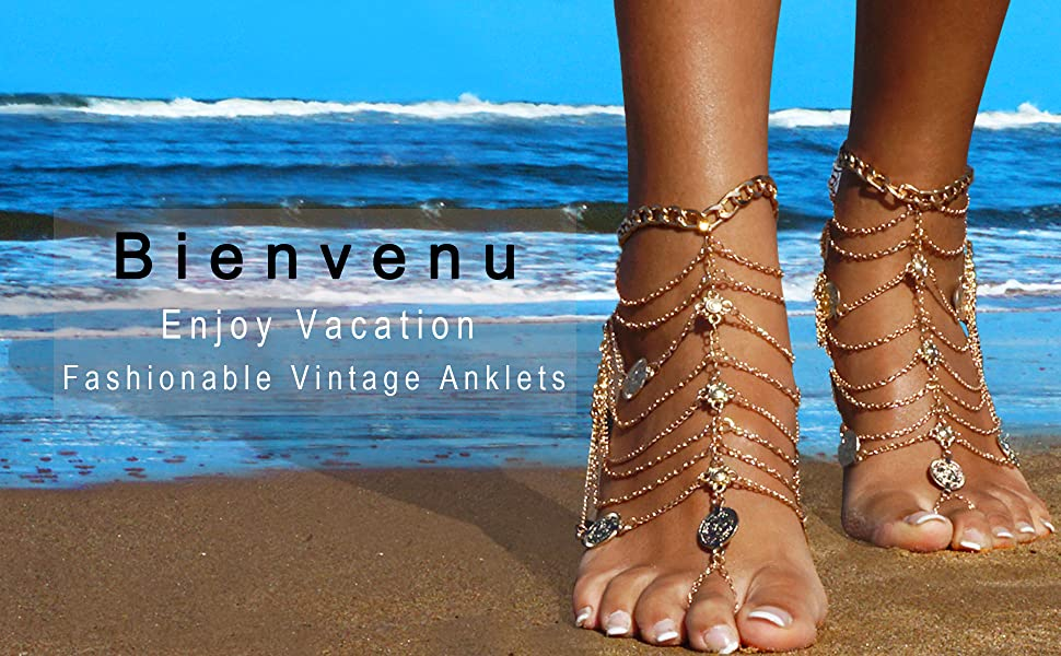 Ideal Bienvenu anklets jewelry, your one-stop choice!