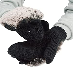 Features of these cute hedgehog mittens