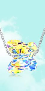 LADY COLOUR Butterfly Bracelet Swarovski Crystals