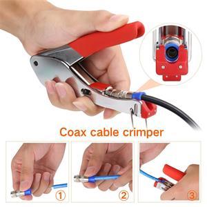 Coax Cable Crimper