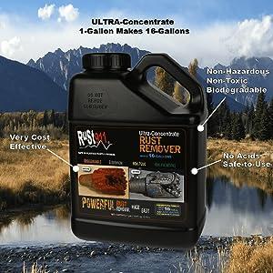 1-Gallon Ultra Concentrate Rust Remover