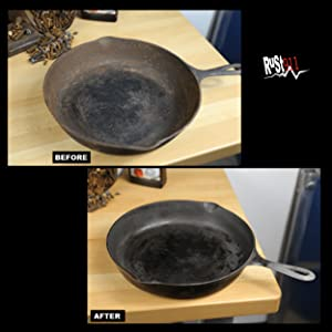 Rusted Cookware, Skillets