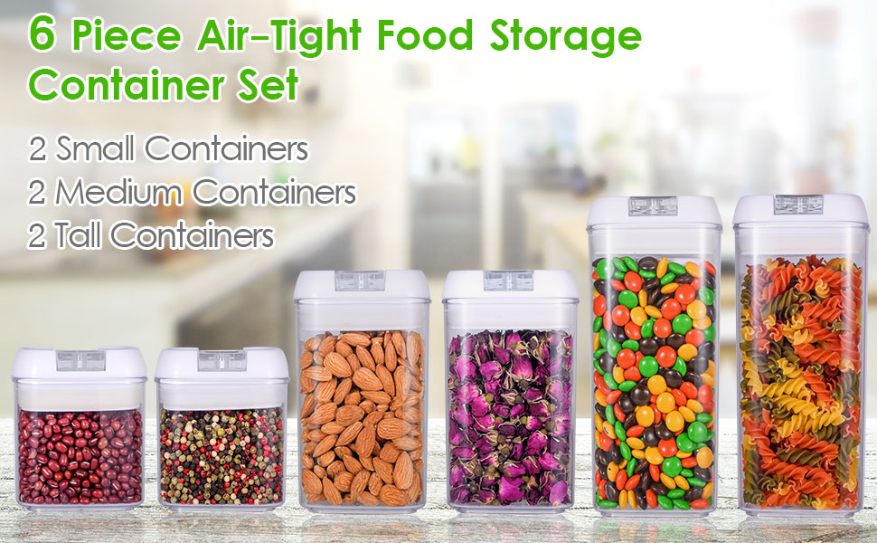 Acrylic Food Storage Containers Part - 17: Did You Find The Containers To Store Your Dry Or Water Foods? Now You Can  Use Our Acrylic Containers To Help You Finished The Desire.