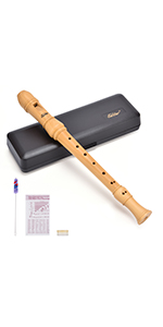 Maple wood recorder