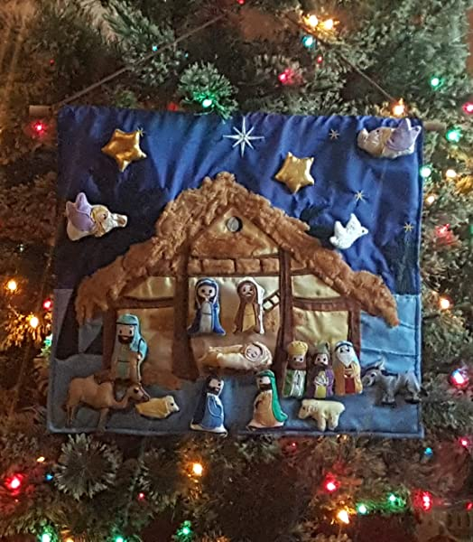 customers love to introduce their family to our new interactive nativity or give it as a gift it is a beautiful addition to any holiday home decor - Nativity Christmas Decorations