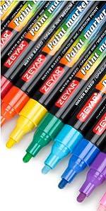 Amazon.com: ZEYAR Premium Acrylic Paint Pen, Water Based ...