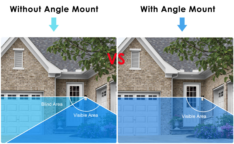 Ring Video Doorbell Angle Mount