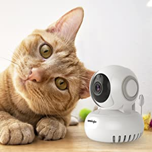 1080P home wifi camera ip camera indoor cloud works with alexa security camera system wireless