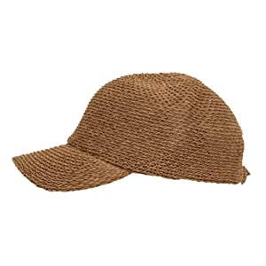 WITHMOONS Summer Weaving Cotton Ivy Flat Cap
