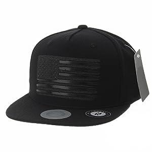 511189e95 WITHMOONS Baseball Cap Star and Stripes American Flag Hat KR2305