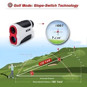 golf range finder laser rangefinderfinders for golf hunting and bow shooting sale
