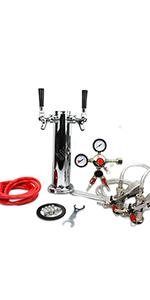 Kegerator kit, kegerator conversion kit