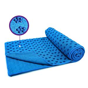 CD CDREAM Yoga Mat Towel Premium Yoga Towel, Non Slip Towel Set with PVC Grip Dots Sweat Absorbent and Quick Dry 100% Microfiber Super Soft 24