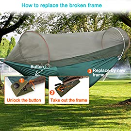 features  amazon    g4free portable  u0026 foldable camping hammock mosquito      rh   amazon