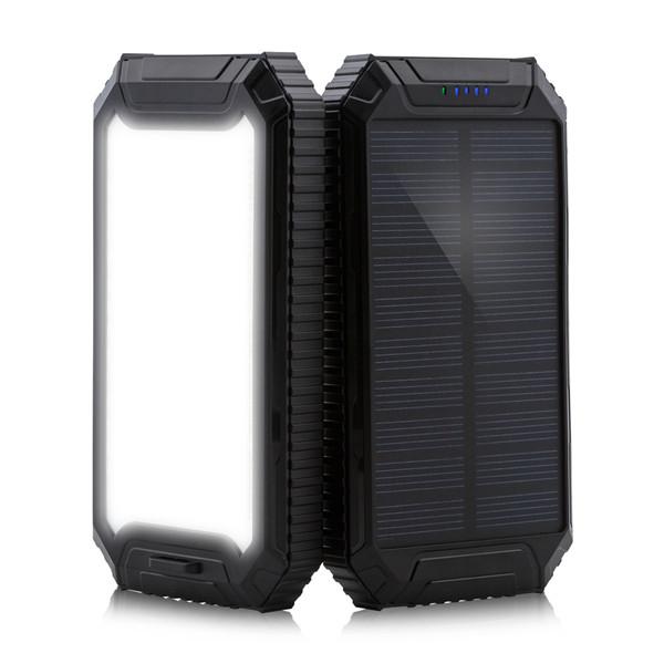 Amazon.com: Solar Power Bank, powergreen10000 mAh Cargador ...