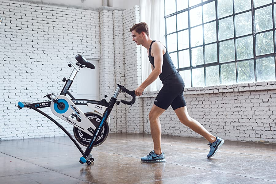 Amazon Com Indoor Cycling Bike Smooth Belt Driven Model