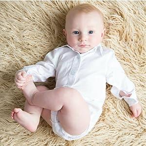 dcbca287bdcf Amazon.com  Littlest Prince Couture Infant Toddler Dress Shirt ...
