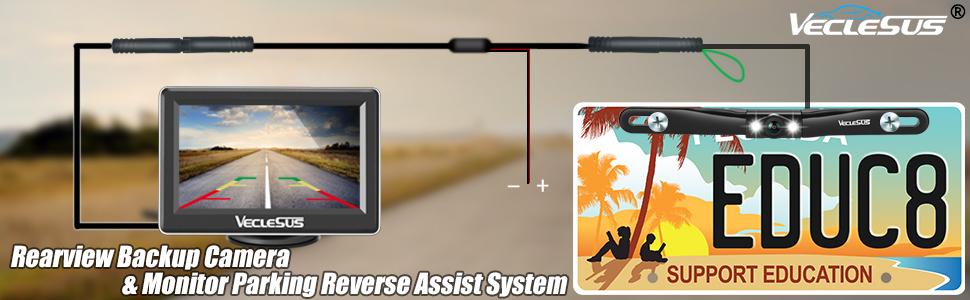 M1 backup camera system