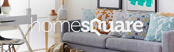 Amazon.com: Home Square - Juego de 2 sillones de ...