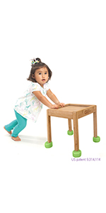 little balance box baby walker push pull toy sit stand montessori toddler girl boy wood wheels