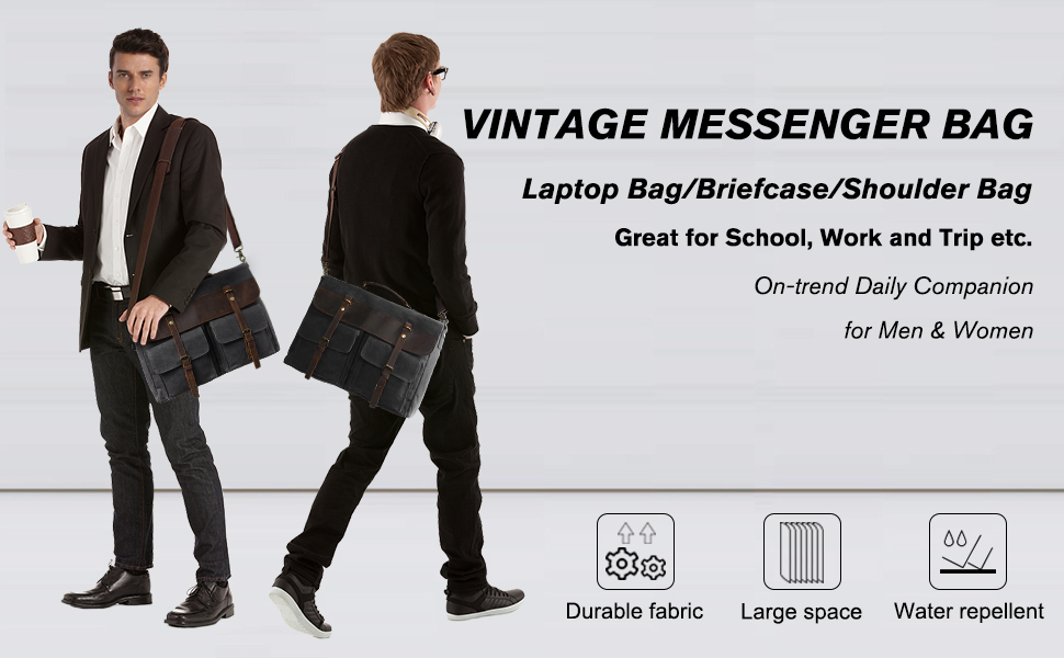 large messenger bag men