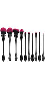 3b72645df81b Amazon.com: Luxspire Eye Shadow Brush Set 6PCS Pro Blending Brush ...