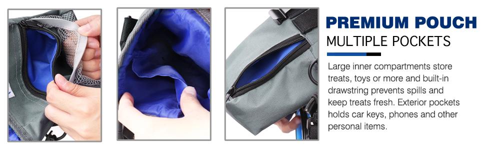 Premium Pouch Multiple Pockets