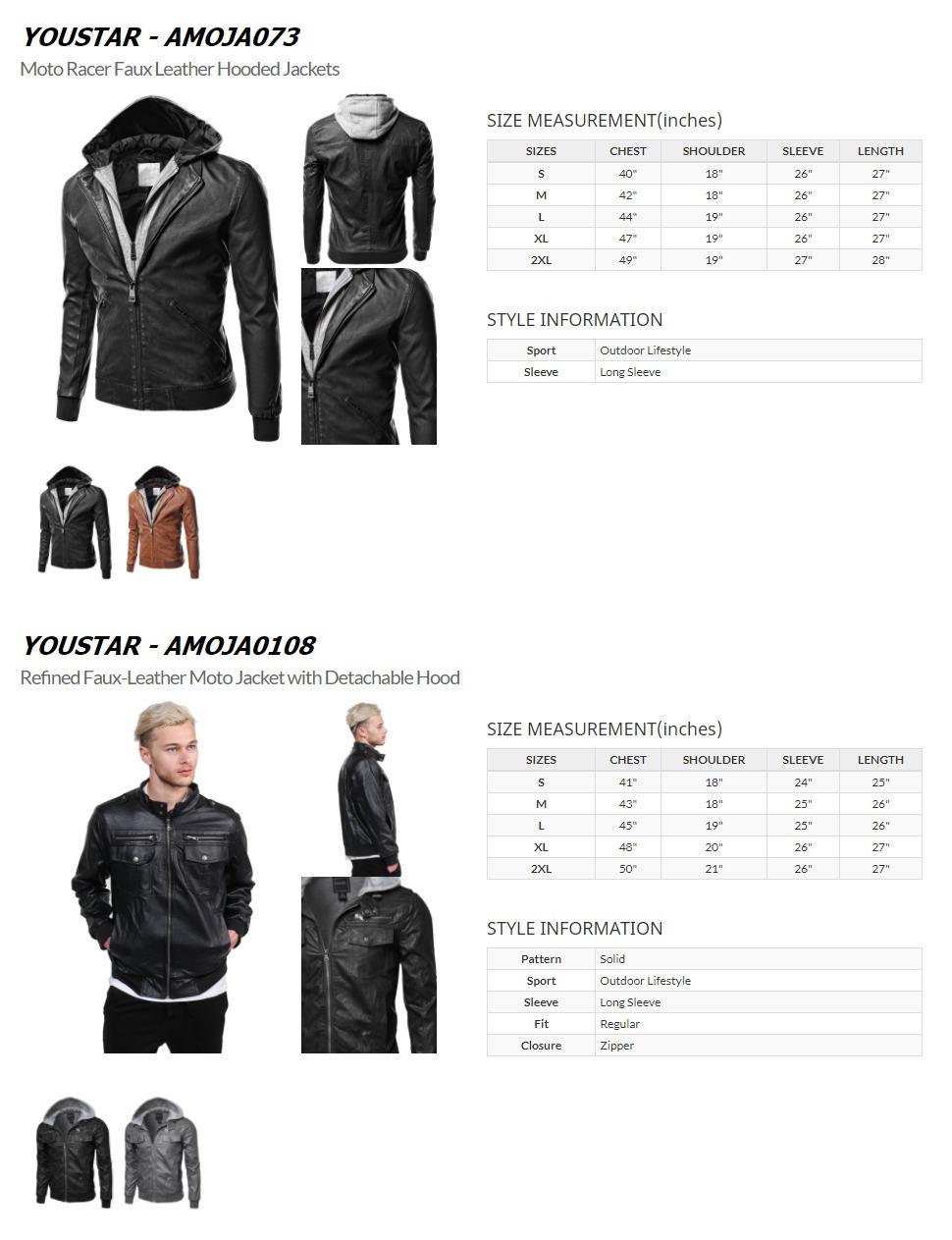 Youstar Men S Clothing