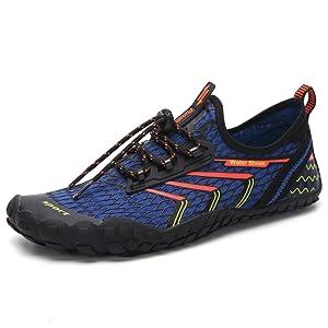 minimalist shoes-blue