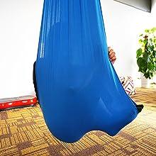blue sensory swing