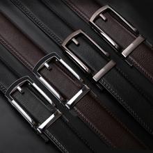 men ratchet  leather dress belt