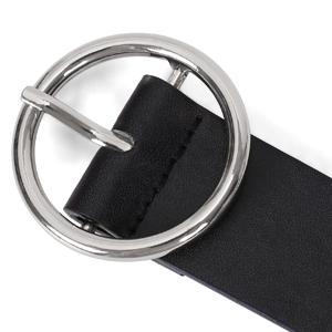 classic O ring buckle belt