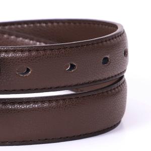 skinny leather waist belt