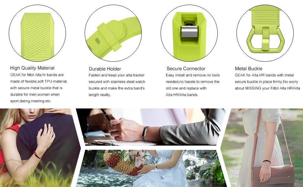 GEAK for Fitbit alta bands