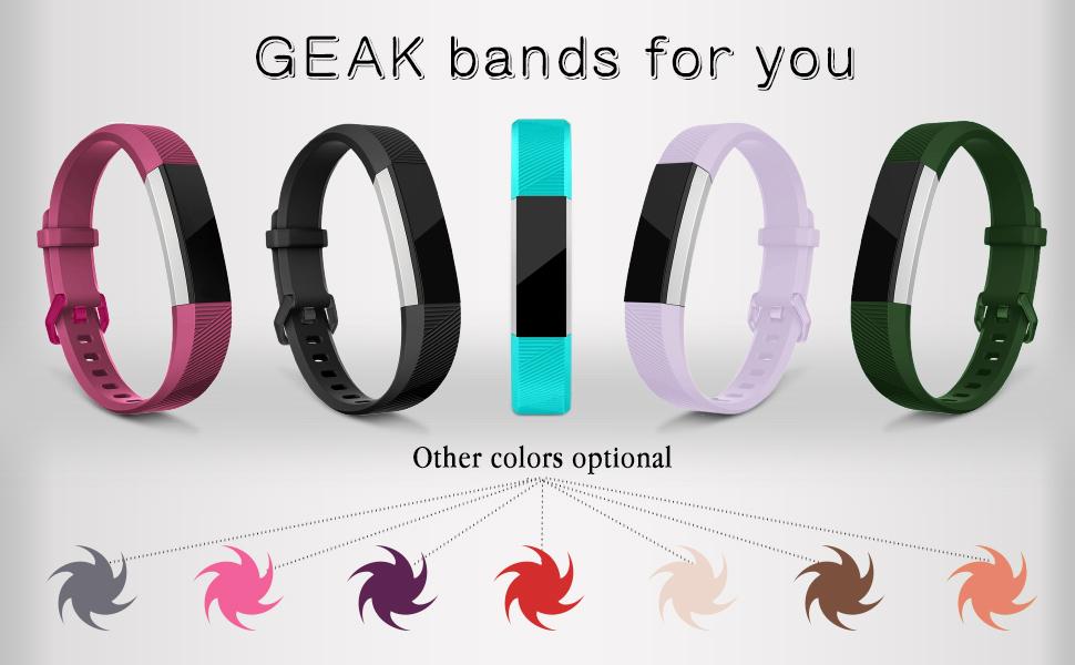 GEAK for Fitbit Alta bands/Fitbit alta HR bands/Fitbit Ace