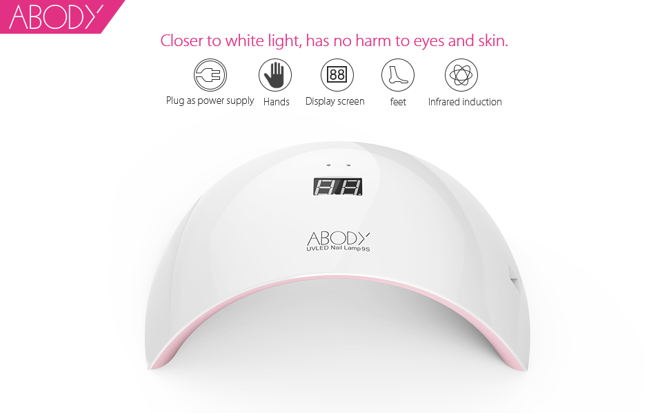 Amazon.com: Abody, Secador de uñas de lámpara ...